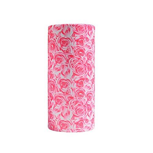 Ndier copricapo multifunzione bandana, set di 2 bandane fascia di bici maschera di protezione viso e scaldacollo foulard per ciclismo corso calcio ecc (rosa e bianco)