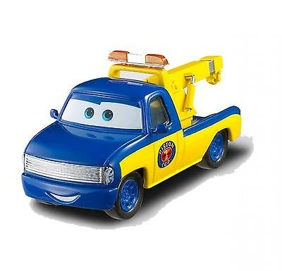 Disney Pixar Cars Race Tow Truck Tom (Piston Cup Series) - Voiture Miniature Echelle 1:55