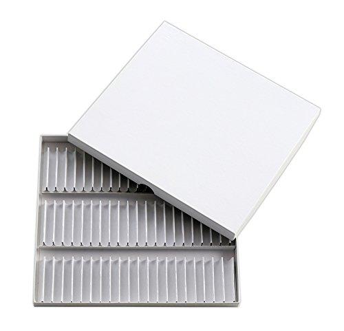Homöopathie Globuli Testsatz Pappkarton für 60 Glasröhrchen 8mm (Ohne Röhrchen)