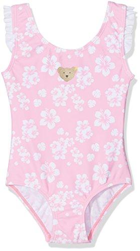Steiff Baby-Mädchen Einteiler Badeanzug, Rosa (Prism Pink 2160), 86