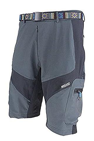 Herren Short Attack Shorts lose Atmungsaktiv Shorts Loose Fit Combat Medium DARKGRAY without pad
