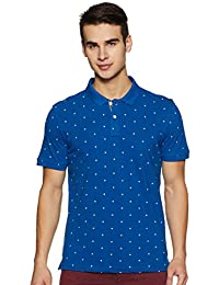 Arrow Sports Men's Printed Regular fit Polo