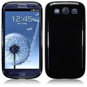Samsung Galaxy S3 i9300 Gel Case Cover The Keep Talking Shop® Samsung Galaxy S3 i9300 Accessories (Solid Black)
