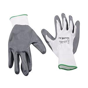 Midas Safety Frontier MBTP061 Unisex Gloves, White/Grey, Large