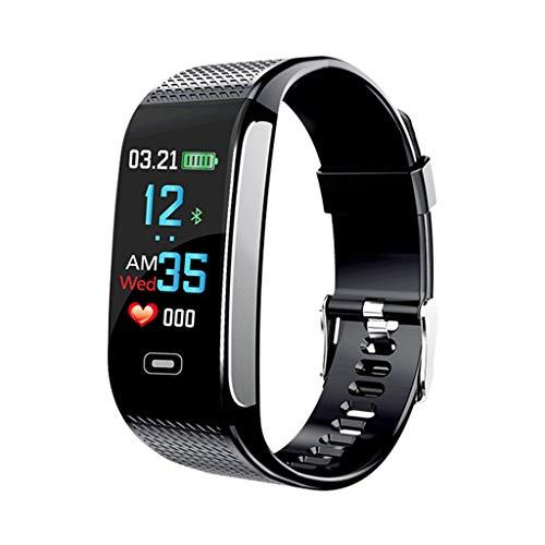 Fitness Tracker Smart Watch IP67 wasserdichter Touchscreen Aktivitäts-Tracker mit Herzfrequenzmesser Kalorienzähler Schrittzähler Smart Armband Android und iOS Smartphone