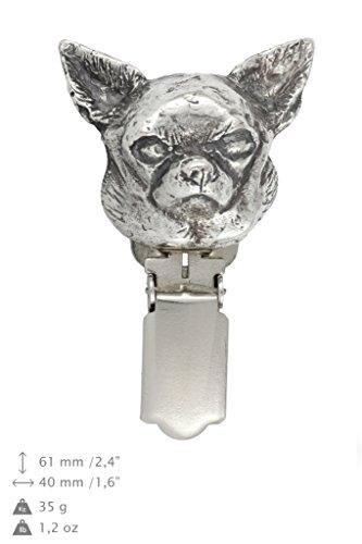 Chihuahua (smooth), Hund, Hund clipring, Hundeausstellung Ringclip/Rufnummerninhaber, limitierte Auflage, Artdog
