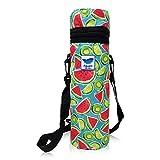 Tosend Borsa Frigo Termica Portabottiglie Ideale per la Spiaggia Colore Frutta
