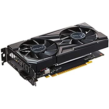 Image result for GALAX GeForce GTX 1650 EX 1-Click OC 4GB GDDR5 128-bit/DIRECTX 12 / ANSEL/PCI-E 3.0 Gaming Dual Fan Graphic Card