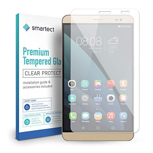 smartect Panzerglas für Huawei MediaPad X2 - Bildschirmschutz mit 9H Härte - Blasenfreie Schutzfolie - Anti Fingerprint Panzerglasfolie
