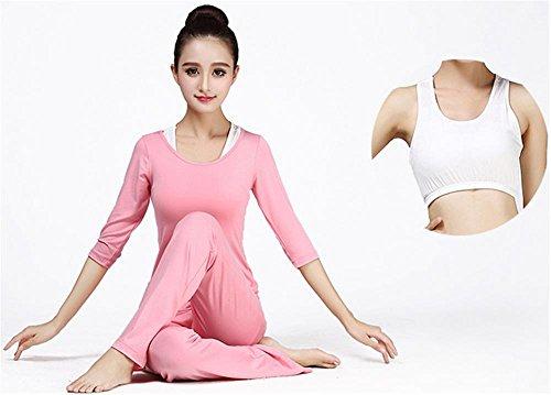 Tenue de yoga pour femme / vêtements de sport confortables / salle de gym Pink