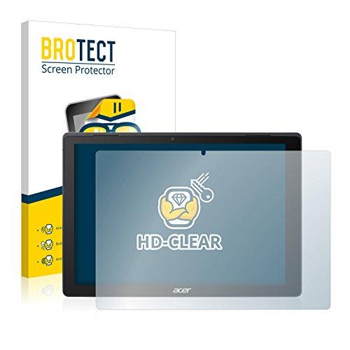 BROTECT Schutzfolie für Acer Switch 5 [2er Pack] - kristall-klare Bildschirmschutz-Folie, Anti-Fingerprint