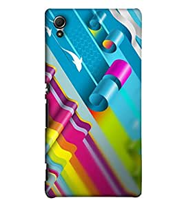EagleHawk Designer 3D Printed Back Cover for Sony Xperia Z3 Plus - d574 :: Perfect Fit Designer Hard Case