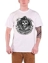 Plastic Head Sons Of Anarchy Reaper Men's T-Shirt