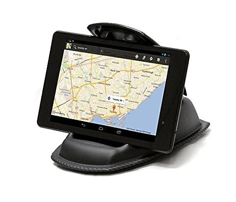 Navitech fixation universelle tableau de bord voiture pour tablettes tactiles de petit format 6 ou 7 pouces y compris Asus FonePad 7 FE170CG / Asus Memo Pad 7 ME572CL