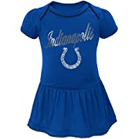 "Indianapolis Colts NFL ""Dazzled"" Infant Girls Bodysuit Dress"