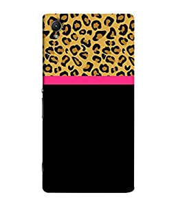 PrintVisa Designer Back Case Cover for Sony XperiaZ4 Compact (Jaipur Rajasthan Tribal Azitec Mobiles Indian Traditional Wooden)