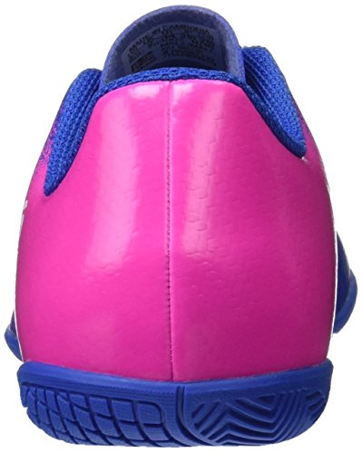 adidas X 16.4 In, Chaussures de Football Compétition Mixte Enfant Multicolore (Blue/Ftwr White/Shock Pink)