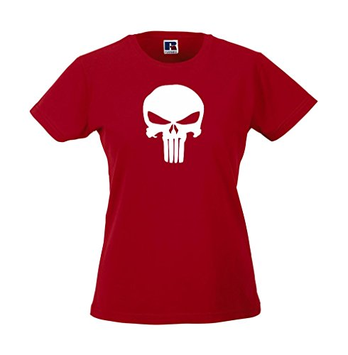 Girlie-Shirt - The Punisher Rot