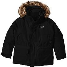 The North Face B Mcmurdo Down Parka - Chaqueta para niño, color negro, talla S