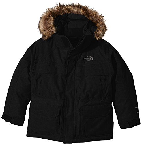 THE NORTH FACE Jungen Parka B McMurdo DOWN, TNF Black, L, T0CSF4 - North Jacket Face Boys Down