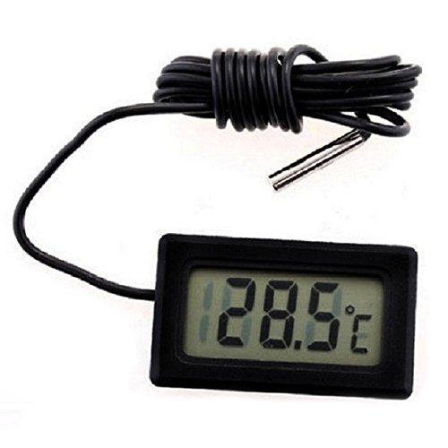 REFURBISHHOUSE Termometro Digital de Nevera congelador refrigerador Temperatura -50~110 Grados Celsius