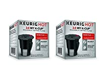 Keurig 119367 2.0 My K-Cup Reusable Coffee Filter (Updated Model) (2 PACK)