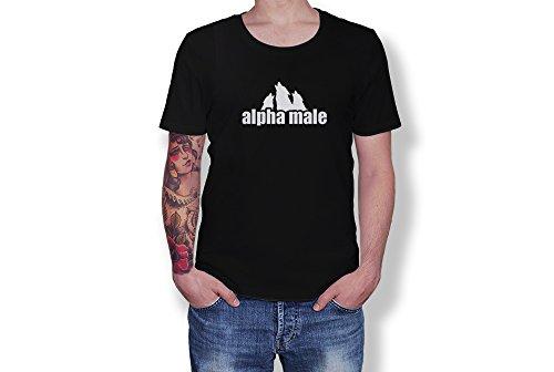 GILDAN Alpha Male - Leader Master King - Wolf Pack Ranks - Custom Unisex Adult Tshirt