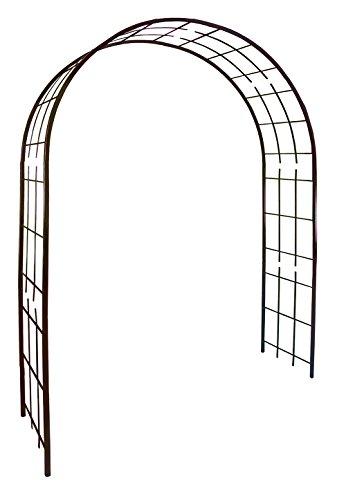 Louis 3006-arco per piante rampicanti, in metallo, in ferro anticato, 180 x 50 x 250 cm