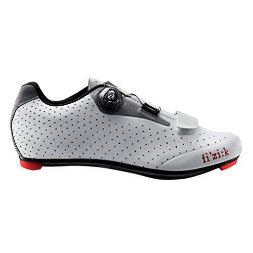 Fizik R5uomo Boa Road Cycling Shoes bianco/grigio chiaro