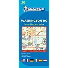 Michelin Washington DC Map 10 (Maps/City (Michelin)) by Michelin Travel & Lifestyle (2012-03-16)