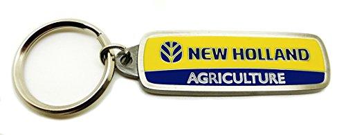 New Holland Landwirtschaft Schlüssel Ring Authentic Offizielles Lizenzprodukt Spec Guss Sammlerstücke (Traktor Sammlerstücke)