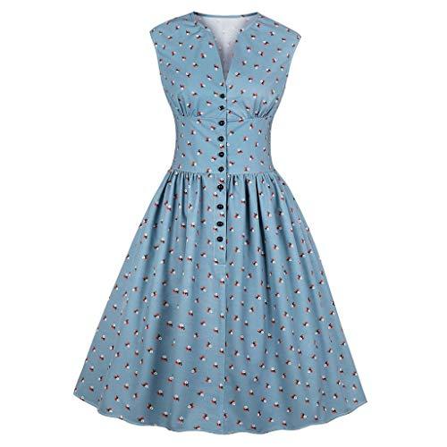 Produp Frauen Jugend Mode Kleider Ärmellose Hülse Mit DREI Vierteln Taille Leopardenmuster Vintage Abend Party Swing Kleid -