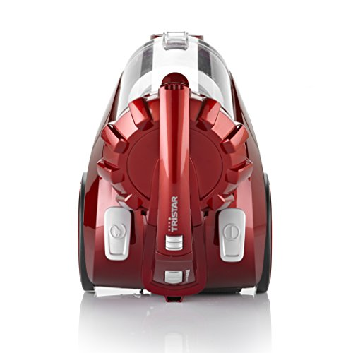 Tristar SZ-2131 Aspirador Multi Ciclónico, 800 W, 2 litros, 80 Decibelios, Rojo