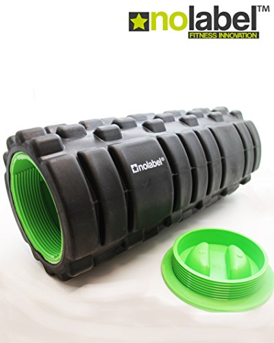 Foam Roller - Rullo in Schiuma | Roller muscolare Trigger Point Rullo rilassante miofasciale in spugna - Rullo massaggiante Pro-Series ottimo post allenamento