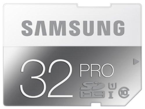 Samsung Speicherkarte SDHC 32GB PRO UHS-I Grade 1 Class 10 (bis zu 90MB/s lesen, bis zu 80MB/s schreiben) - Samsung Serie 6000