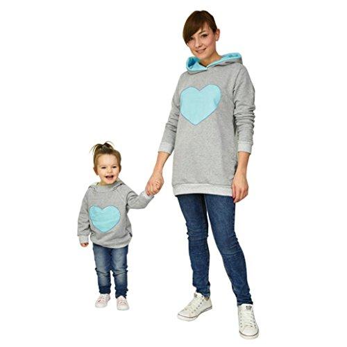 K-youth® Bebé Sudaderas Camiseta de Manga Larga Sudadera con Capucha