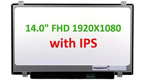 Generic 35,6cm IPS LED Full HD Matt Ersatz-LCD-Bildschirm für Laptop Kompatibel mit CMO n140hce-eaa - Ersatz-lcd-bildschirm-laptop