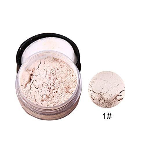 Cosmetics Vegan Mineral Make up Foundation Helle Pulver Öl Kontrolle Wasserdicht Sweatproof Licht Zarte Pulver Langlebige Pulver Feste Make-Up Reparatur Öl Kontrolle Für Einstellung (5 Farben)