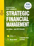 First Lessons in Strategic Financial Management - For CA Final Students