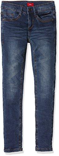 s.Oliver Jungen Jeanshose 75.899.71.0607, Blau (Blue Denim Stretch 56Z9), 128 (Herstellergröße: 128/REG)