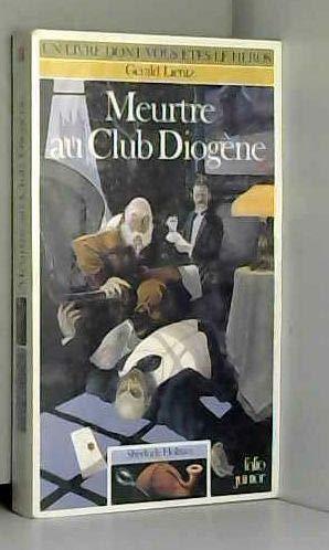 Sherlock Holmes, Tome 1 : Meurtre au club Diogène par Gerald Lientz
