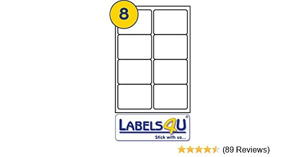 photograph relating to Printable Sticky Labels known as 800 Sticky Labels Self-Adhesive A4 Addressing Transport