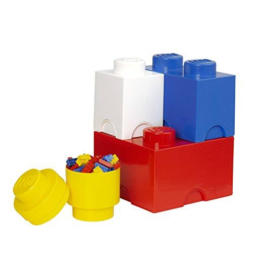 *Lego Brique de rangement Multipack L, Boîtes de rangement empilables, Jeu de 4 Liste de prix