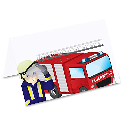 Feuerwehrauto, 50 Stück ()