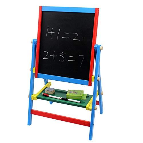 Pädagogisches Spielzeug Lernen Große Skizzenbuch Kinder Frühen Kindheit Pädagogische Holz Magnetische Reißbrett Baby Doppelgerüst Skizzenbuch Die Tafel Geburtstagsgeschenk für Jungen Mädchen
