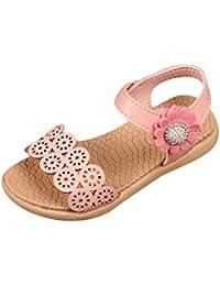 Lico M?dchen Pantolette rosa Sandale Schlappen Hausschuh Freizeitschuh Kork