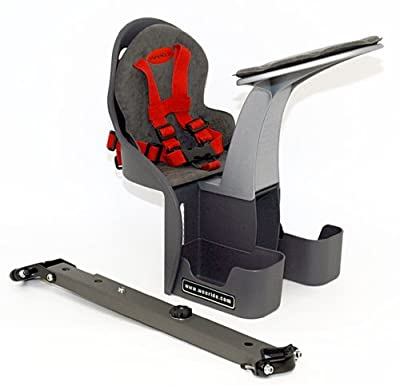 WeeRide Classic Front Mounted Children's Safest Bike Seat, Ages 1-4