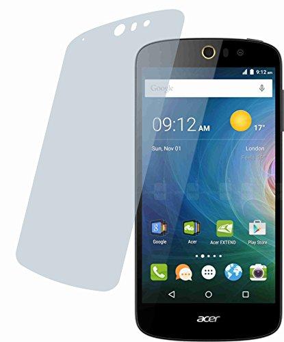 4ProTec 4X Crystal Clear klar Schutzfolie für Acer Liquid Z630 / Z630S Premium Bildschirmschutzfolie Displayschutzfolie Schutzhülle Bildschirmschutz Bildschirmfolie Folie