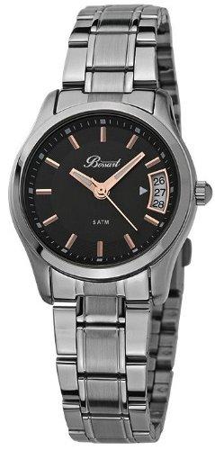 Bossart Watch Co. Basic BW-1002-SS Armbanduhr für Sie Zeitloses Design