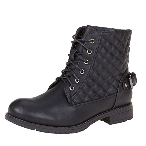 Sapatas Das Senhoras, 578, Ankle Boots Preta